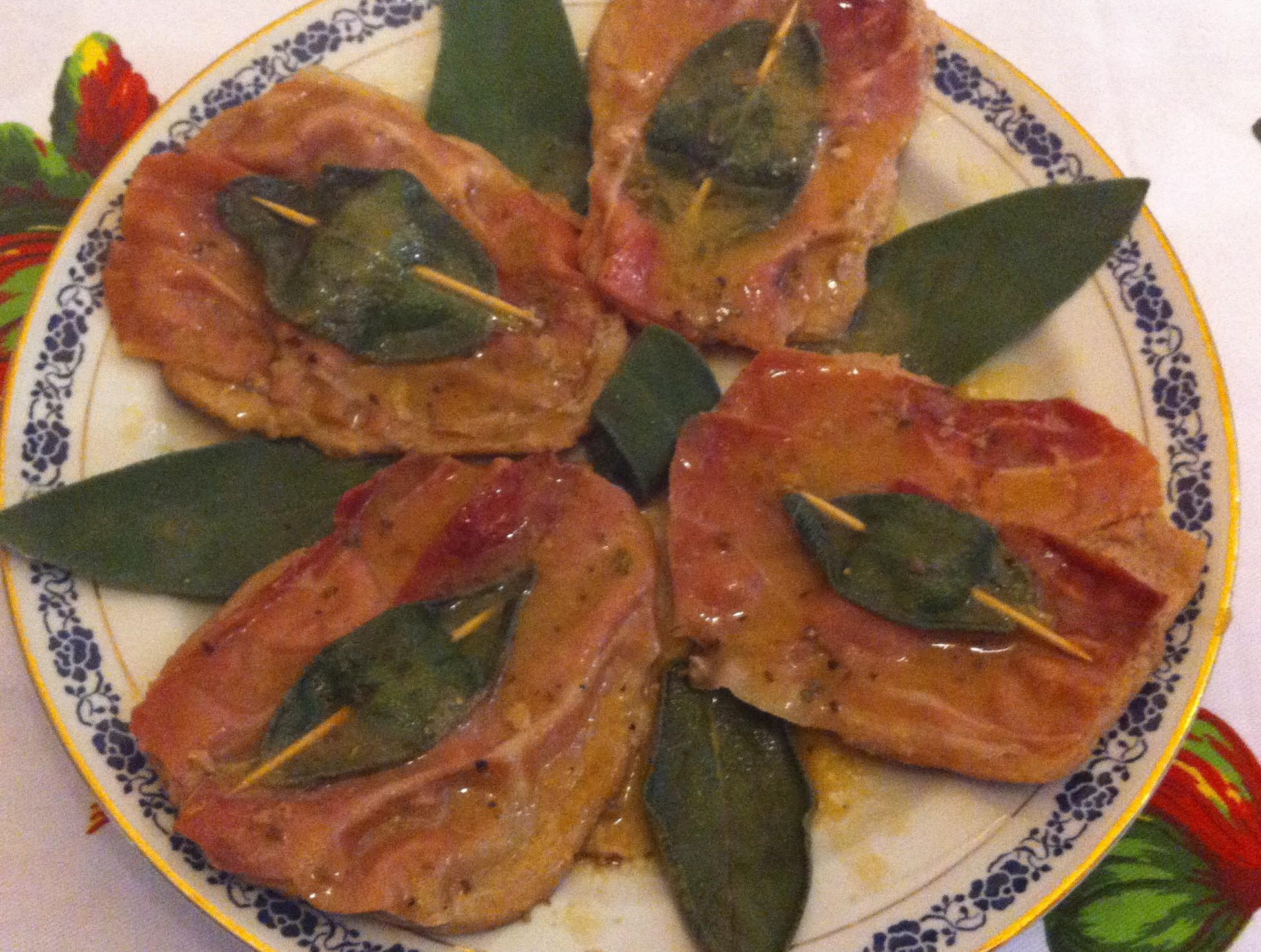 Le ricette di soleluna saltimbocca alla romana ricetta tipica le ricette di cucina for Cucina tipica romana ricette